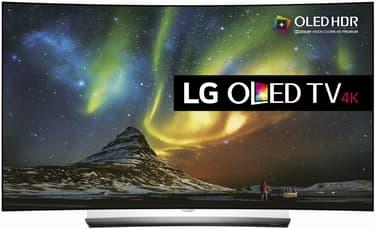 "LG OLED65C6V 65"" Smart Curved 4K Ultra HD 3D OLED -televisio"