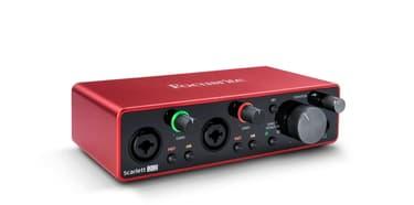 Focusrite Scarlett 2i2 3rd Gen -äänikortti USB-väylään