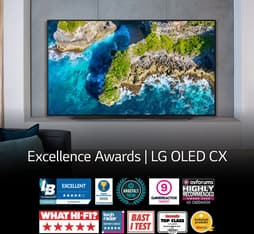 "LG OLED55CX 55"" 4K Ultra HD OLED -televisio, kuva 14"