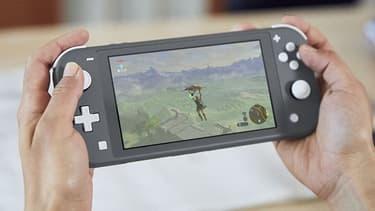 Nintendo Switch Lite -pelikonsoli, harmaa, kuva 3