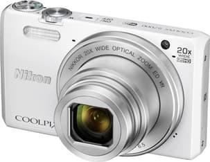 Nikon COOLPIX S7000, valkoinen