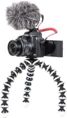 Canon EOS M50 -mikrojärjestelmäkamera, musta + 15-45 mm -objektiivi Vloggaajan kit