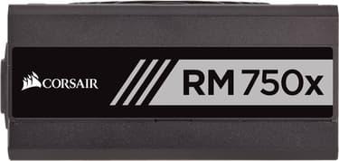 Corsair RM750x, 80 PLUS Gold -ATX-virtalähde, 750 W, kuva 2