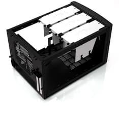 Fractal Design NODE 304 - Mini ITX -kotelo ilman virtalähdettä, väri musta, kuva 3