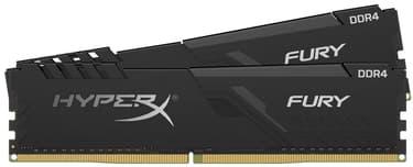 Kingston HyperX FURY DDR4 2666 MHz CL16 32 Gt -muistimodulipaketti