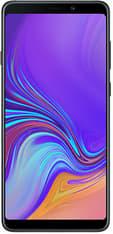 Samsung Galaxy A9 -Android-puhelin Dual-SIM, 128 Gt, musta