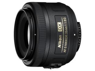 Nikon Nikkor AF-S DX 35mm f/1.8G normaaliobjektiivi