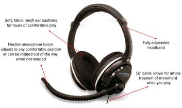 Turtle Beach Ear Force PX21 PS3 / Xbox 360 -kuulokemikrofoni, kuva 6