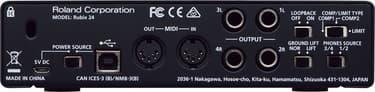Roland Rubix24 -äänikortti USB-väylään, kuva 3