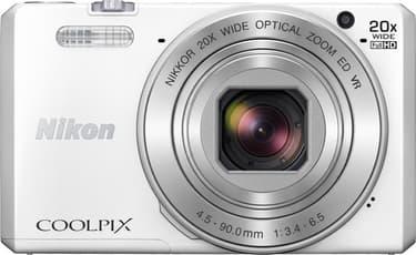 Nikon COOLPIX S7000, valkoinen, kuva 2