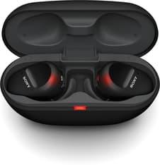 Sony WF-SP800N -Bluetooth-vastamelukuulokkeet, musta, kuva 5