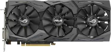 Asus GeForce GTX 1070 STRIX-GTX1070-O8G-GAMING 8192 Mt -näytönohjain PCI-e-väylään, kuva 4