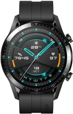 Huawei Watch GT2 -älykello , Musta 46 mm silikoniranneke, kuva 3
