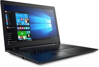 """Lenovo Ideapad 110 17,3"""" -kannettava, Win 10 64-bit, musta, kuva 2"""