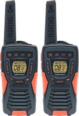 Cobra AM-1035 PMR -radiopuhelin, musta/oranssi, pari
