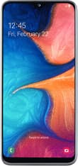 Samsung Galaxy A20e -Android-puhelin, Dual-SIM, 32 Gt, valkoinen, kuva 2
