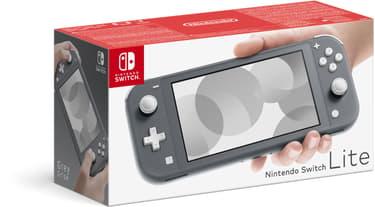Nintendo Switch Lite -pelikonsoli, harmaa