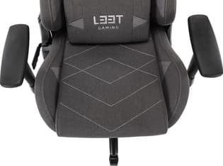 L33T Gaming Elite V4 -pelituoli, tummanharmaa, kuva 15
