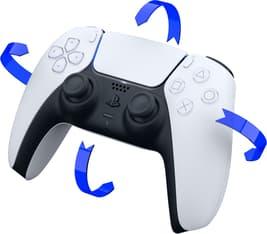 Sony DualSense -peliohjain, valkoinen, PS5, kuva 5