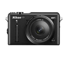 Nikon 1 AW 1 mikrojärjestelmäkamera + AW 11-27,5 mm objektiivi, musta