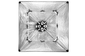 Falcon Eyes LH-ESB6060K 8x40W valaisukitti päivänvalolampuilla, kuva 4
