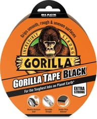 Gorilla Tape Black -teippi, 32 m, musta