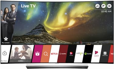 "LG OLED65C6V 65"" Smart Curved 4K Ultra HD 3D OLED -televisio, kuva 3"