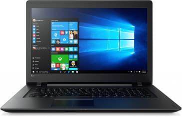 """Lenovo Ideapad 110 17,3"""" -kannettava, Win 10 64-bit, musta"""