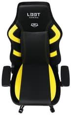 L33T Gaming E-Sport Excellence (L) -pelituoli, keltainen, kuva 6