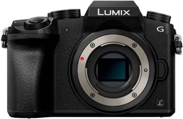Panasonic LUMIX G7 -mikrojärjestelmäkamerarunko, musta