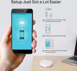 TP-LINK Deco M9 Plus Tri-band WiFi -Mesh-järjestelmä, 3-pack, kuva 6