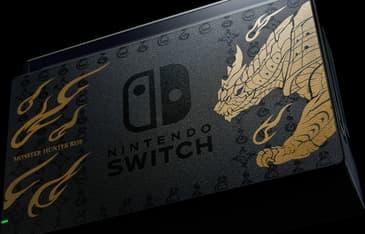 Nintendo Switch Monster Hunter Rise Edition -pelikonsoli, erikoisväritys, kuva 3