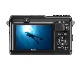Nikon 1 AW 1 mikrojärjestelmäkamera + AW 11-27,5 mm objektiivi, musta, kuva 3