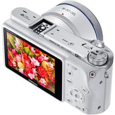 Samsung NX500 + 16-50mm PZ OIS, valkoinen, kuva 2