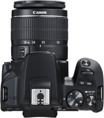 Canon EOS 250D -järjestelmäkamera, musta + 18-55 IS STM, kuva 4