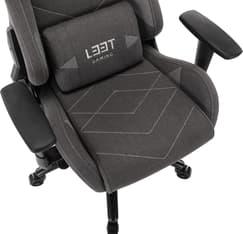 L33T Gaming Elite V4 -pelituoli, tummanharmaa, kuva 17