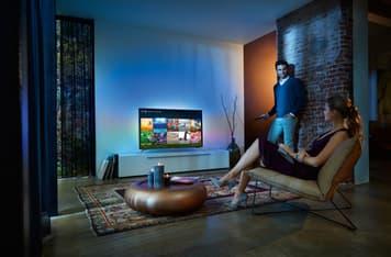"Philips 65PUS7101 65"" Smart Android 4K Ultra HD LED -televisio + 6 kk Viaplay, kuva 9"
