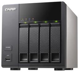 QNAP TS-412 –verkkolevypalvelin neljälle kiintolevylle