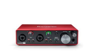 Focusrite Scarlett 2i2 3rd Gen -äänikortti USB-väylään, kuva 3
