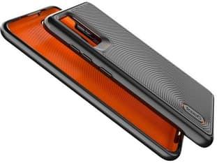 Gear4 D3O Battersea -suojakuori, Galaxy S20+, musta/oranssi, kuva 4