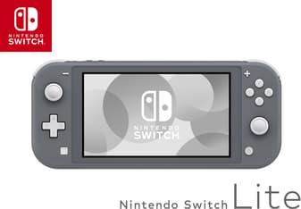 Nintendo Switch Lite -pelikonsoli, harmaa, kuva 2
