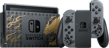 Nintendo Switch Monster Hunter Rise Edition -pelikonsoli, erikoisväritys, kuva 2