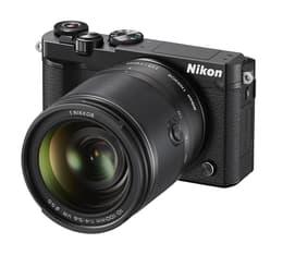 Nikon 1 J5 + 1 NIKKOR VR 10-100mm f/4-5.6, musta