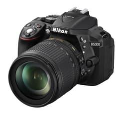 Nikon D5300 KIT järjestelmäkamera + 18-105 VR, musta