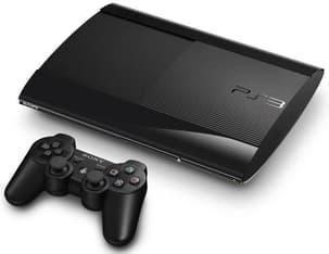 Sony PlayStation 3 12 Gt -pelikonsoli, musta