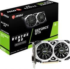 MSI GeForce GTX 1650 D6 VENTUS XS OCV2 -näytönohjain PCI-e-väylään