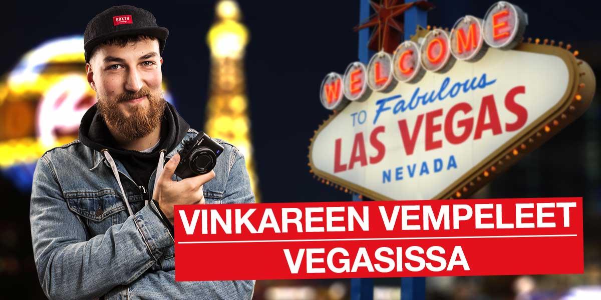 Vinkareen Vempeeet Vegasissa, CES 2018 -messuilla