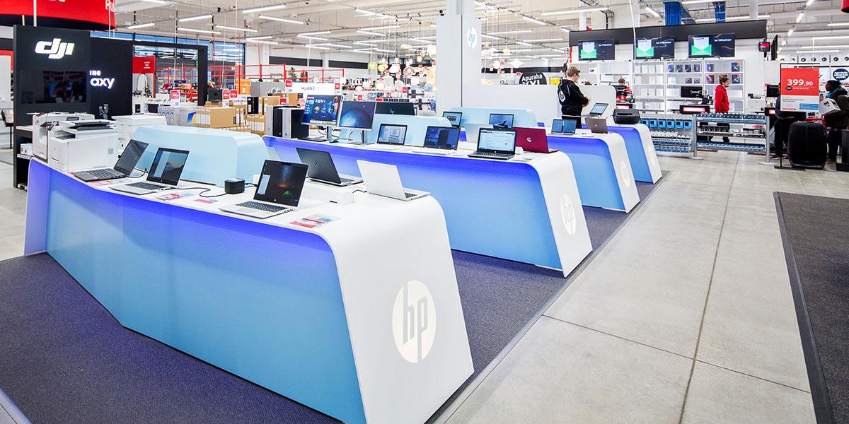 HP-tietokoneet -osasto