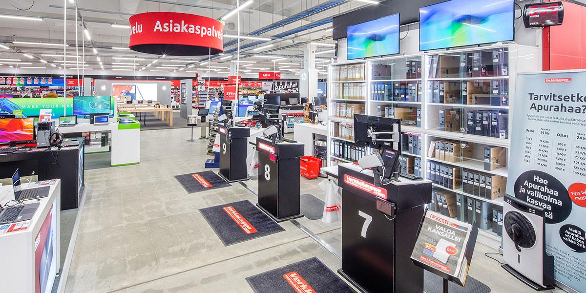 Verkkokauppa Jätkäsaari Aukioloajat