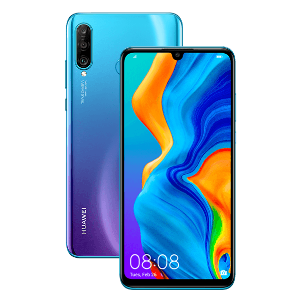 Huawei P30 Lite -Android-puhelin